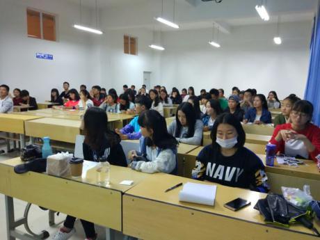 2016-2017学年上学期外院英语协会第二期英语角顺利举行