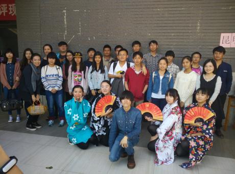 我校日语系师生参加第三届云南省日语歌咏大会并大获好评