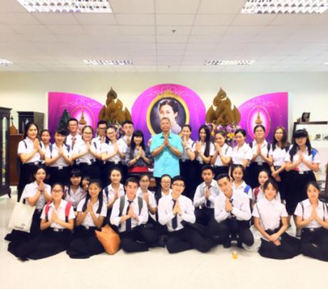 不必担心,我们在泰国过得挺好 ——泰语系14级学生在泰国的日常
