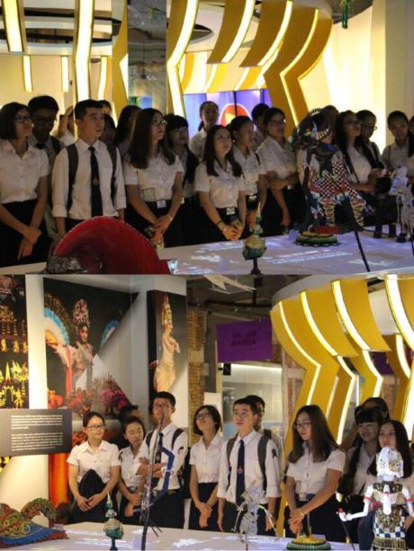 我院泰语系14级在泰留学生参观曼谷王朝博物馆和东盟文化中心