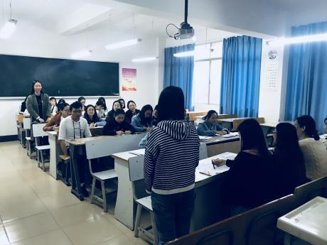 外国语学院学生第一党支部党员发展大会